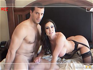 hotwife wifey Kendra lust is made to pulverize her man on camera