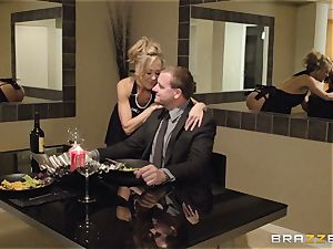 The husband of Brandi enjoy lets her plow a different man