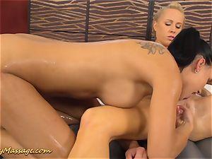 lezzy rubdown with Victoria tasty