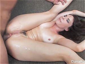 Dana DeArmond gets an buttfuck boinking on the couch