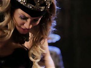 Mean princess Jessica Drake in warm boinking parody