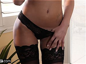 High class beauty Ariana Marie gets romped good in underwear
