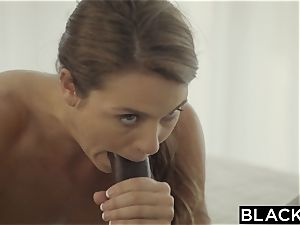 BLACKED very first interracial For kinky sis Ally Tate