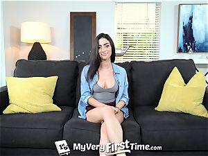 MyVeryFirstTime brazilian Jasmine Vega first bang-out sequence bang