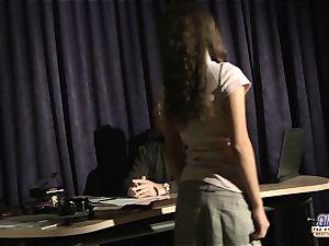 Anita seducing her old music professor