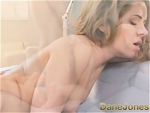 Dane Jones cock-squeezing figure smallish doll likes this thick pipe
