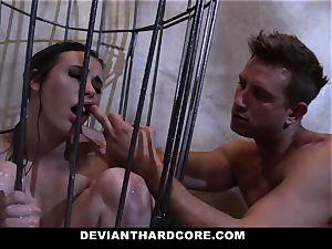 DeviantHardcore - Casey gets a tastey fetish ravage