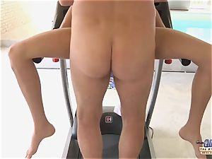 aged young pornography honey gets poked gives a oral job closeup