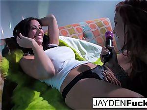 Jayden Jaymes and Jayden Cole get kinky