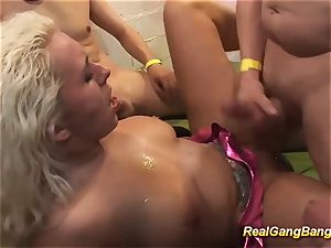 chesty german honey extraordinary pounded