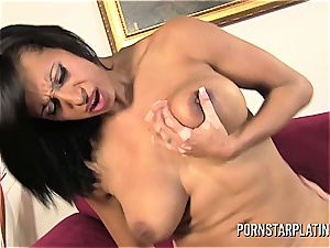 adult movie star Live web cam tearing up with Faustine Lee