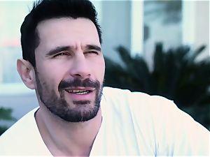 big-chested Latina Romi Rain and insatiable Frenchman Manuel Ferrara