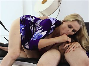 milf bashed by son's friend