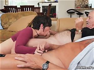 aged dudes huge mammories and father pokes cheerleader mate compeer s step daughter-in-law first-ever time