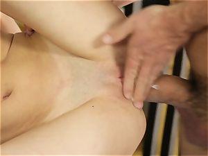 petite Piper Perri enjoys fresh jizm