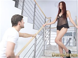Dane Jones chinese sweetie gives bf wondrous undergarments