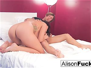 Alison gets her cunny drilled