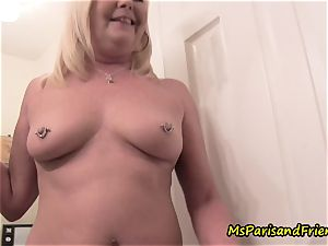 mommy Plays with Herself The Has piss piss have fun Time