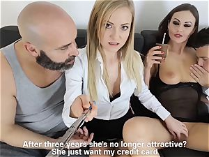LOS CONSOLADORES - super-hot swinger four way with scorching stunners