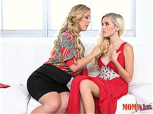 snatch pie stepmom entices her stepdaughter Naomi forest & Cherie Deville