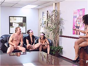 Getting wild in the office part 4