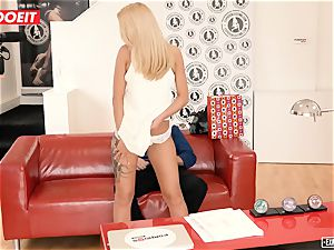 Katrin Tequila humped hardcore on her very first audition