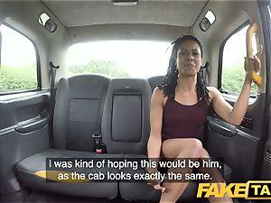 faux cab rapid boinking and internal cumshot for peachy bum