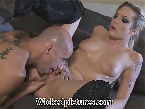 Rampant role play for Bailey Blue and a torrid man