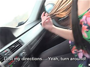 Loren Minardi honeypot fucked deep in the car