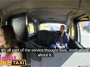 female faux cab Cabbie luvs paramedics hefty rod