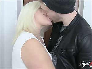AgedLovE Lacey Starr entices xxx orgy paramour