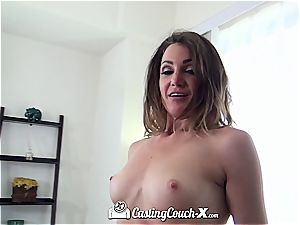 CastingCouch X Hazel spotted dark-haired Ariel Winters fuck