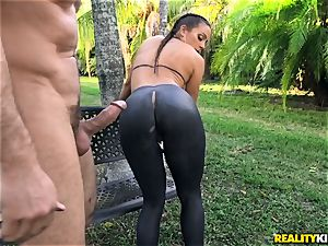 Abigail Mac pounded in her taut snatch