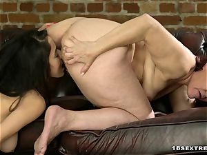 crimson Mary and Darcia Lee in all girl porn