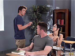 buxom schoolteacher Ava Addams is boinked by her student