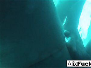 Underwater hidden camera girl-on-girl fun