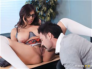 slamming that humungous man meat into Ella Knox in class